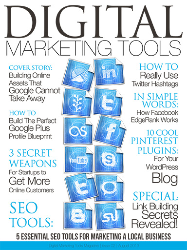 In digital marketing tools august 2013 issue digital marketing tools digital marketing tools malvernweather Gallery