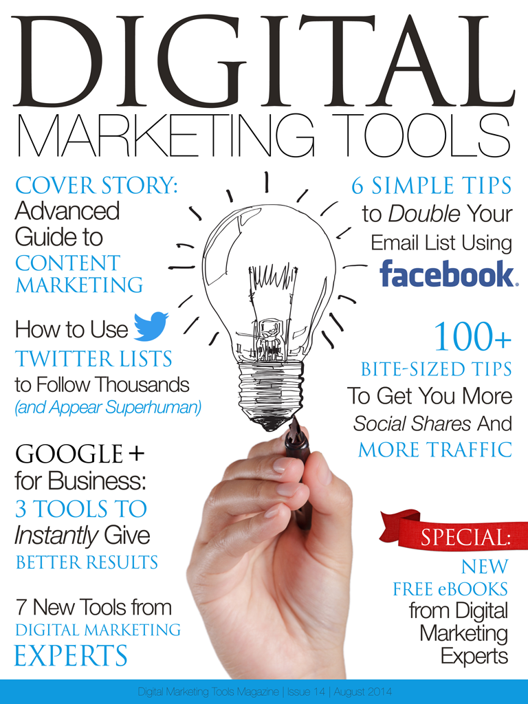 Digital Marketing Tools, Digital Marketing Tools magazine, DigitalMarketingTools, Digital Marketing Tools iPad, Digital Marketing Tools Android, Digital Marketing Tools Google Play