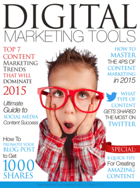 Digital Marketing Tools, Digital Marketing Tools magazine