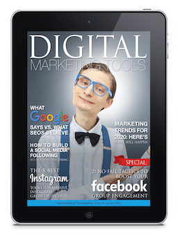 January 2020 digital marketing tools magazine, social selling, social media, content marketing, internet marketing, online marketing, digital agency